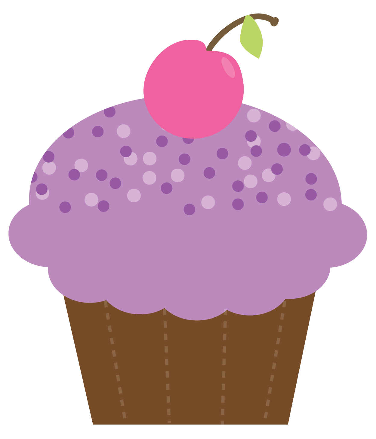 Having a at school. Bing clipart cupcake