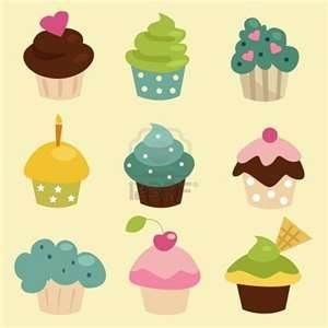 Bing clipart cupcake. Signs images cupcakes and
