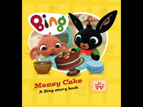 Bing clipart episode. Bunny messy cake new