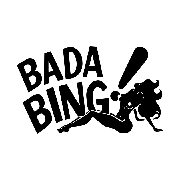 Bada black the sopranos. Bing clipart logo