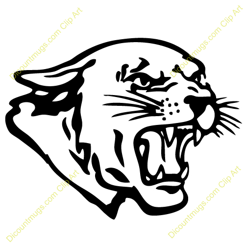 Panther designs as a. Bing clipart mascot