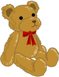 Simple Teddy Bear clip art