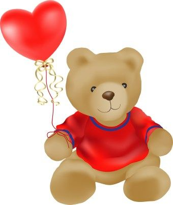 Arts & Pix offers you a fun and colorful Valentine's Day BIG Teddy Bear  clipart png. Contains 2 png hig… | Winter classroom activities, Clip art, Teddy  bear clipart