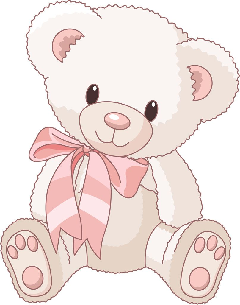 Black and white free. Bing clipart teddy