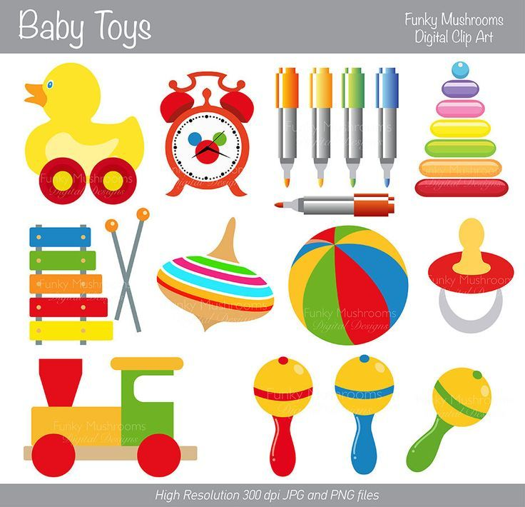 Baby toys clip art. Bing clipart toy