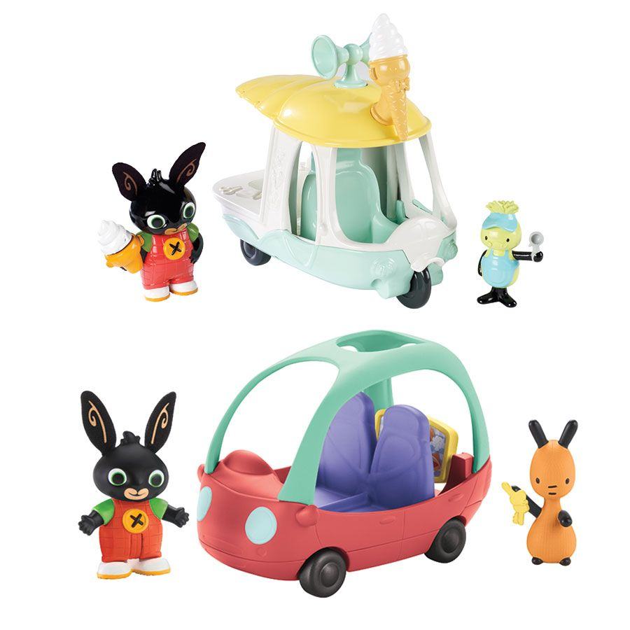 Bunny vehicle figure assorted. Bing clipart toy