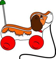 Bing clipart toy. Pull toys clip art