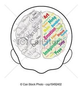 Bing clipart vector. Clip art left brain