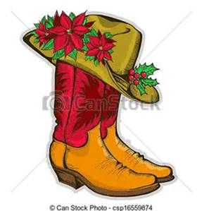 Western christmas clip art. Bing clipart vector