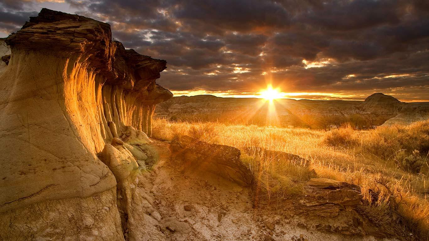 Archive hoodoos at sunset. Bing clipart wallpaper