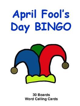Fool s day . Bingo clipart april