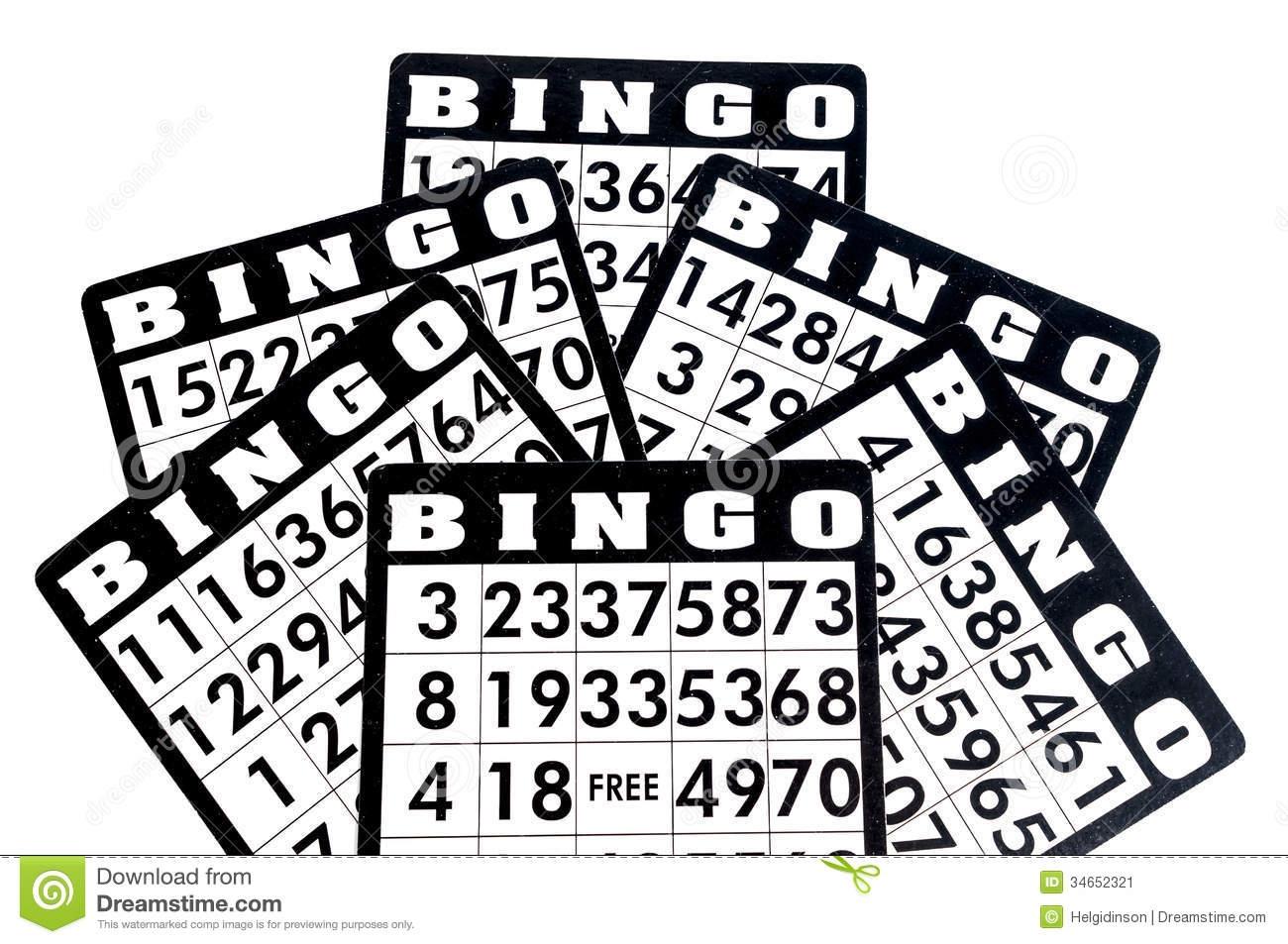 Bingo clipart bingo board.  collection of black
