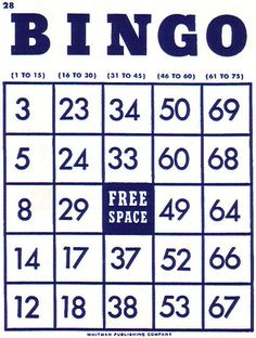 Free card cliparts download. Bingo clipart bingo board