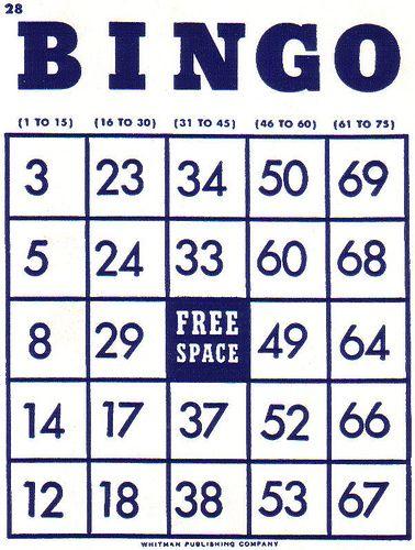 Bingo clipart bingo card.  best cards images