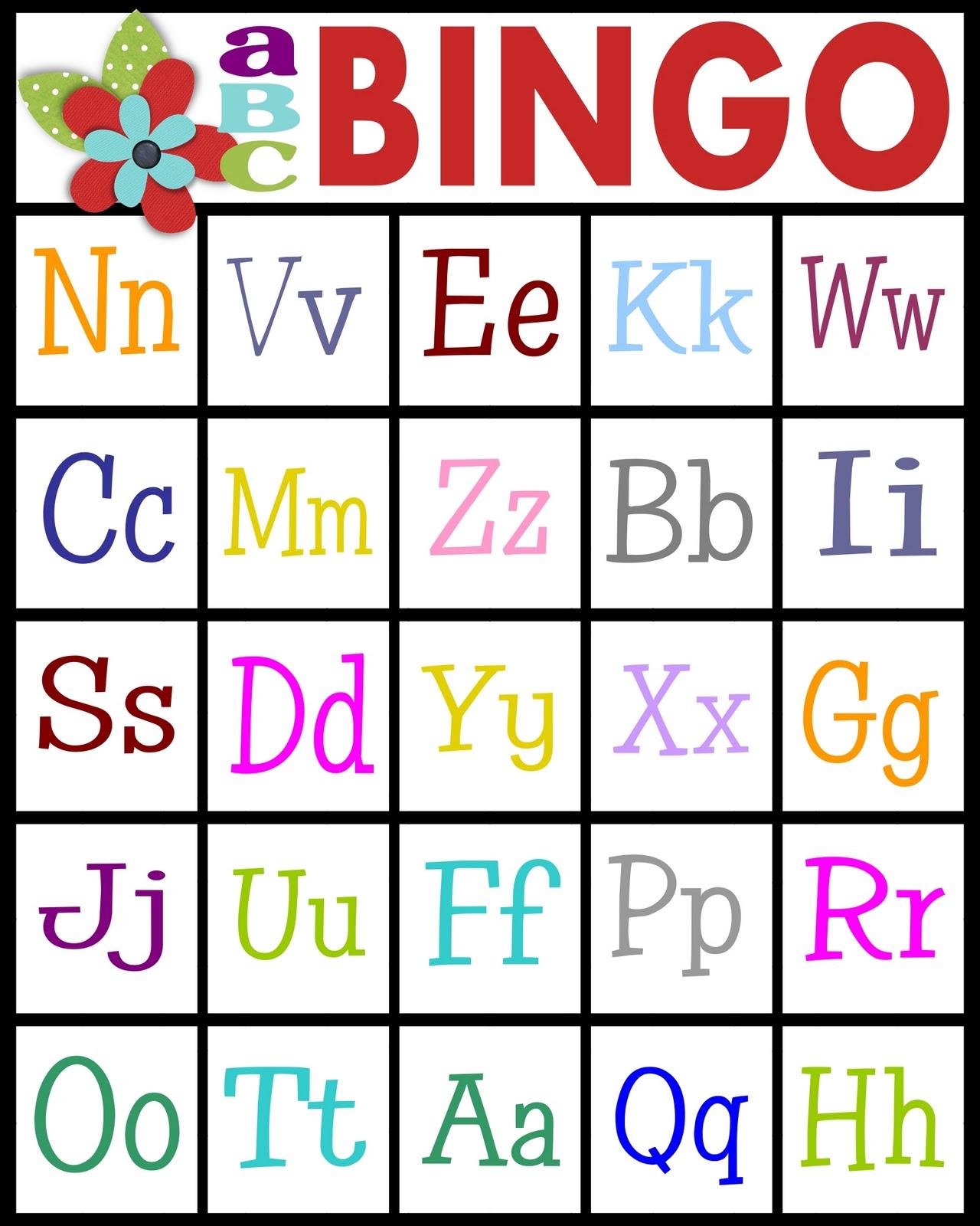 Abc peatssake . Bingo clipart bingo card