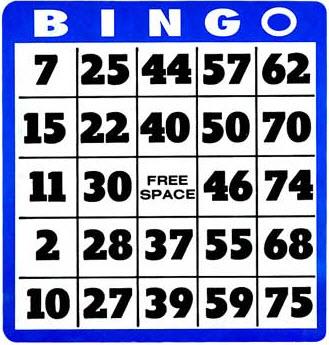 Free cliparts download clip. Bingo clipart bingo card