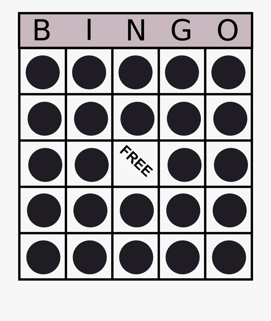 Bingo clipart bingo card. Clip art free cliparts