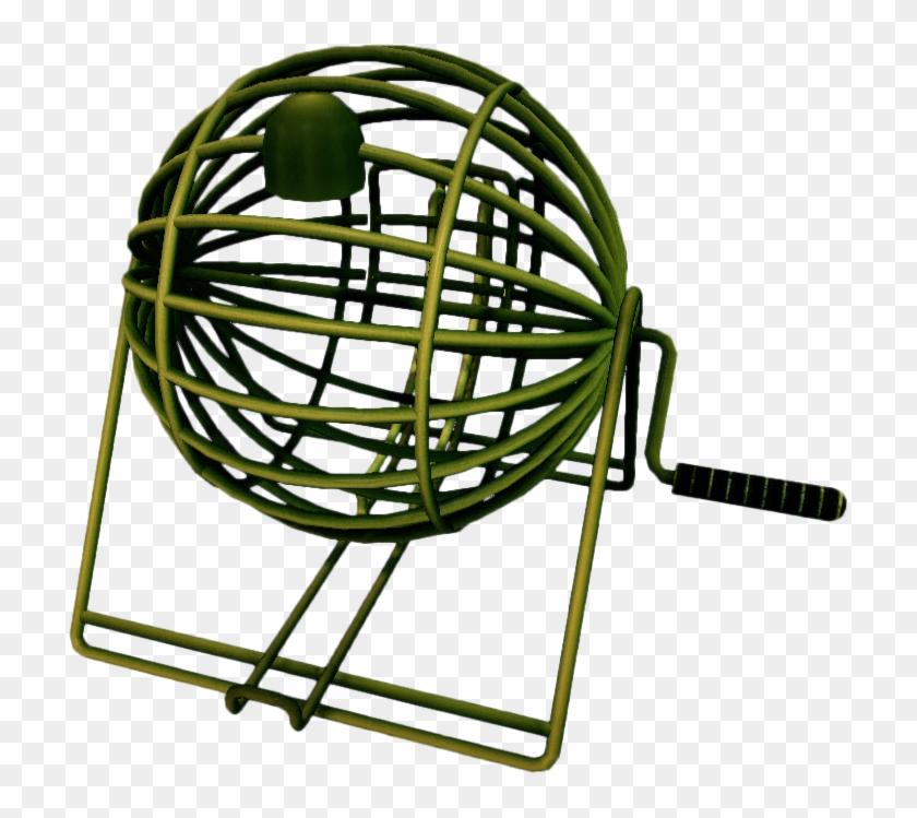 Dead rising ball cage. Bingo clipart bingo machine