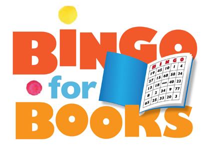 Bingo clipart book. Books spring ridge pto