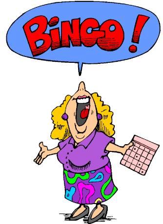 . Bingo clipart cartoon