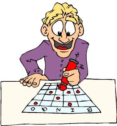 Bingo clipart cartoon. Free clipartix
