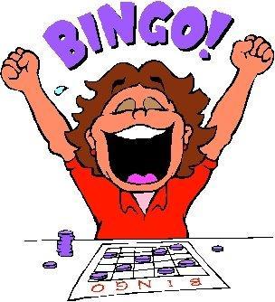 Free winners . Bingo clipart cartoon