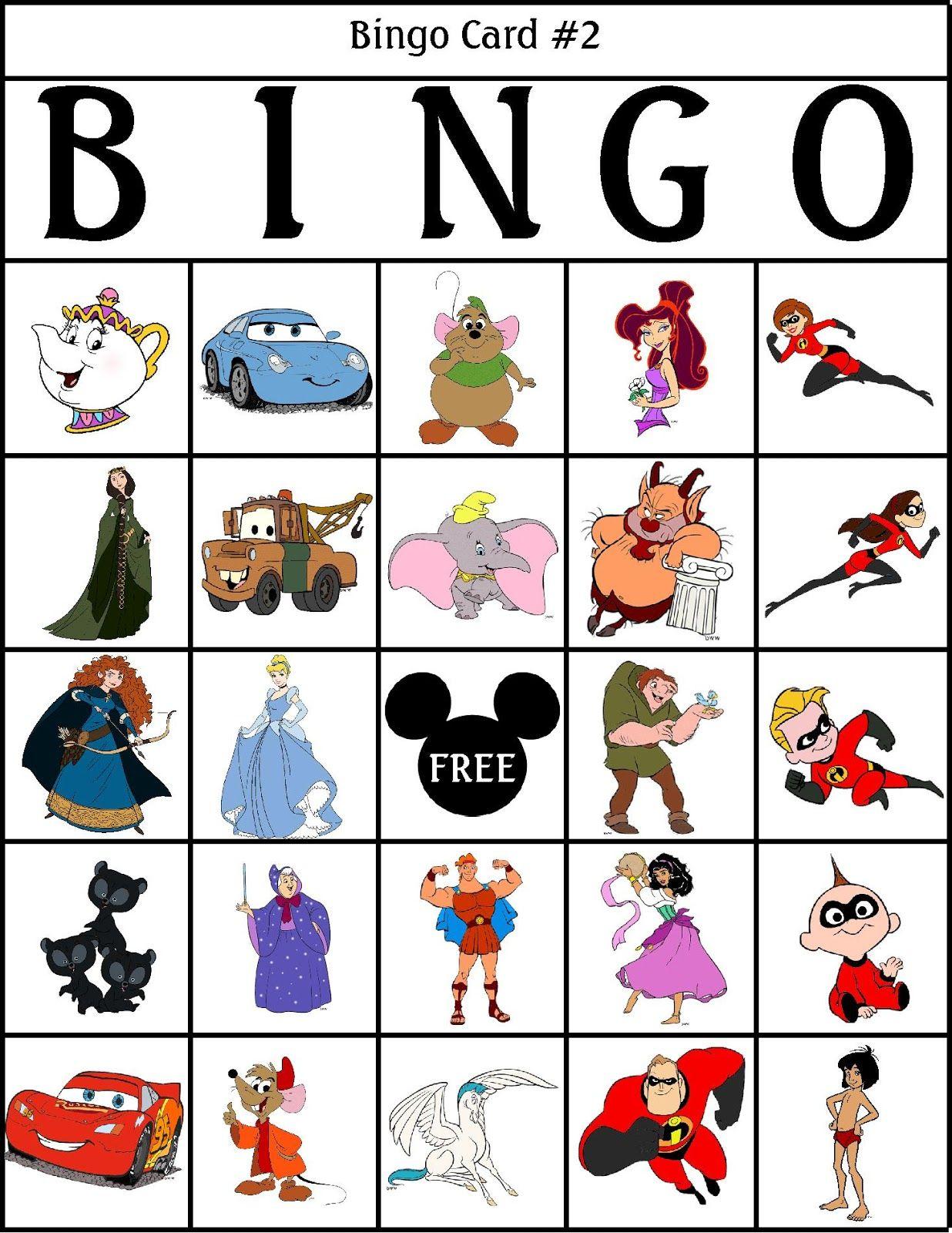 Bingo clipart children's. Robbygurl s creations printable