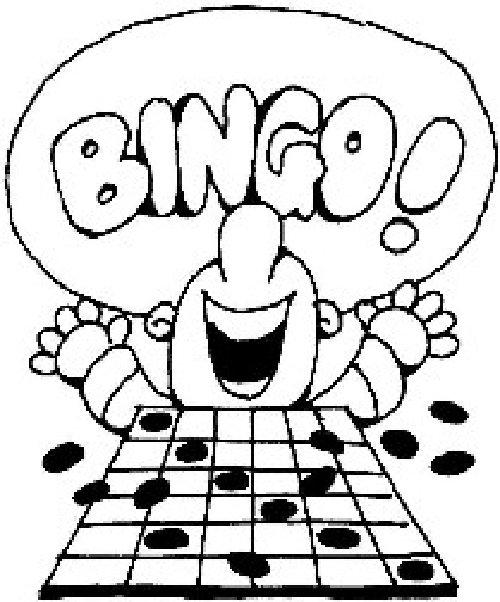 St mark parish bandwagon. Bingo clipart children's