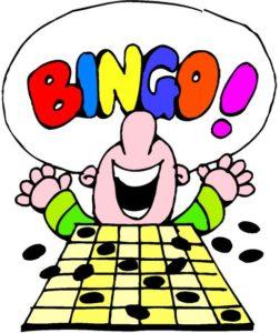 Bingo clipart children's. December knights of columbus