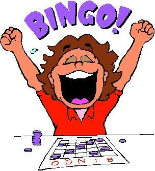 Fun for everyone st. Bingo clipart church