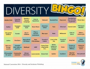 Utahpta org. Bingo clipart diversity inclusion
