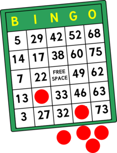 Bingo clipart geriatric. Pin by annette long
