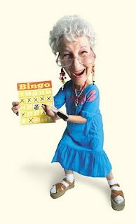 Bingo clipart geriatric. Party planning mom gero