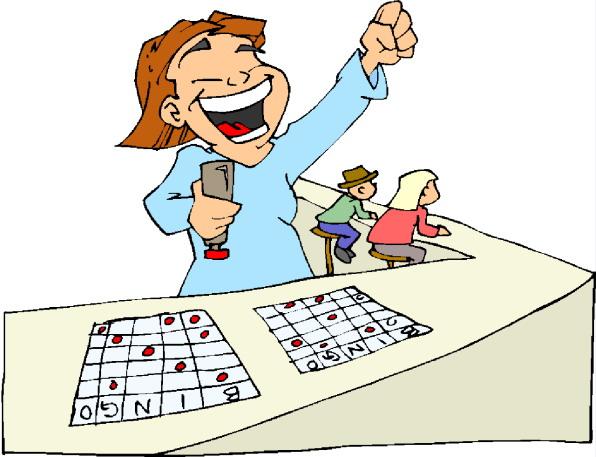 Bingo clipart geriatric. People playing image