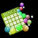 Color wheel of download. Bingo clipart green