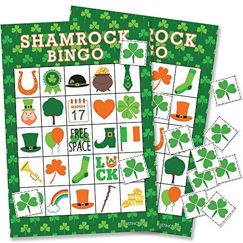 Bingo clipart green. St patrick s day