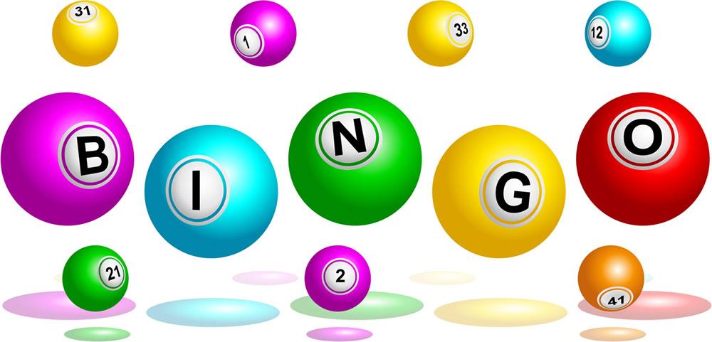 Night a success oakleigh. Bingo clipart green