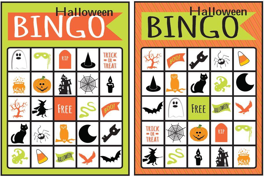 Bingo clipart halloween. Printable free printables craftbnb