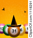 . Bingo clipart halloween