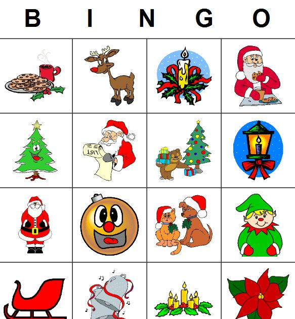 Bingo clipart holiday.  best images on