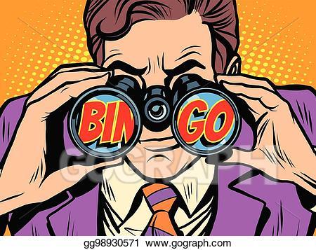 Clip art vector businessman. Bingo clipart keyword