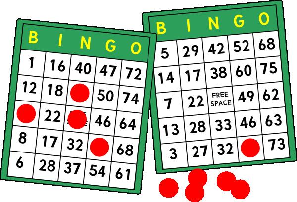 Bingo clipart line.  clipartlook