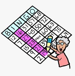 Free cliparts download clip. Bingo clipart line