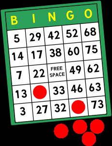 Free clip art pictures. Bingo clipart logo