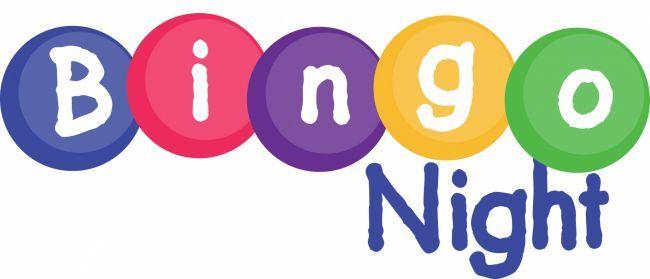 Bingo clipart logo. Night on bulletin board