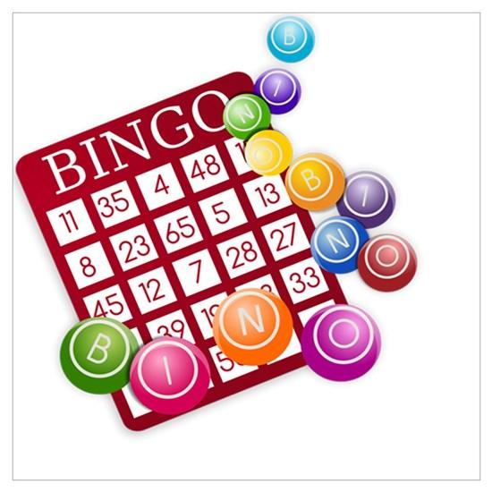 Bingo clipart merchandise. Las vegas card and