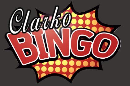 Bingo clipart merchandise. Clarko supplies a licensed