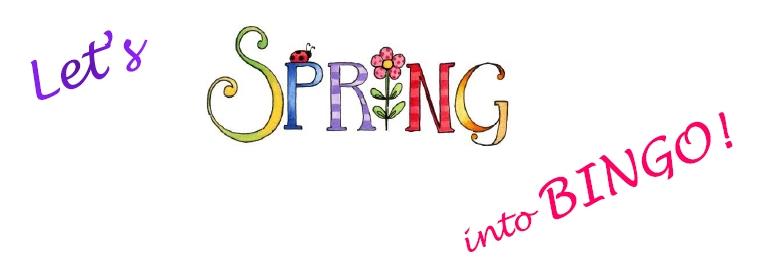 Bingo clipart spring. May th super saturday