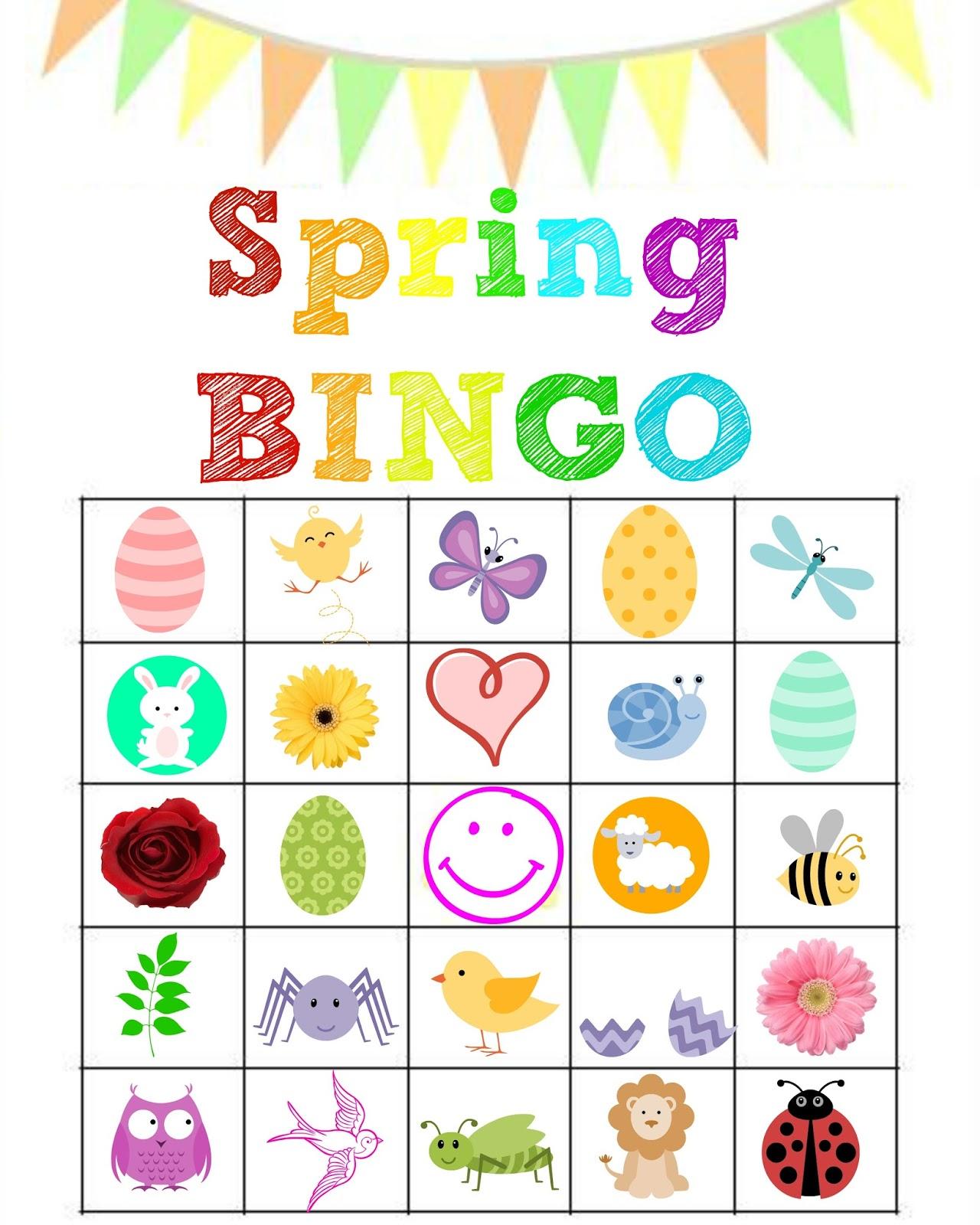 Stronger than the average. Bingo clipart spring