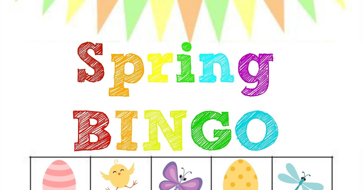 Bingo clipart spring. Stronger than the average